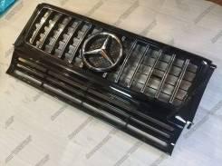 Решетка радиатора. Mercedes-Benz G-Class, W463, W463.307, W463.321, W463.320, W463.228, W463.327, W463.328, W463.300 OM606D30, M112E32, OM612DE27LA, M...