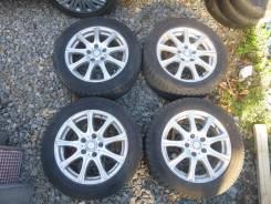 "Зимние колеса Bridgestone 205/55R16 5х114,3 6,5J ET40. 6.5x16"" 5x114.30 ET40"