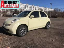 Аренда, прокат Nissan March 2003 год. От 1000 руб/сут в Уссурийске