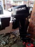 Лодочный мотор Suzuki 40 л. с. гидроподьемник!