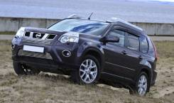 Дефлекторы окон (ветровики) Nissan X-Treil 2007-2014