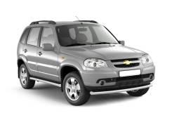 Защита порогов (трубы под пороги) Chevrolet Niva2009