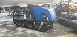 Мотобуксировщик Мужик 18,5F + тормоз+реверс с длинным валом, 2018