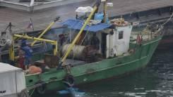 Рыболовный сейнер для прибрежного лова РТ во Владивостоке