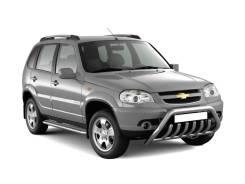Накладка на порог. Chevrolet Niva, 21236 BAZ2123