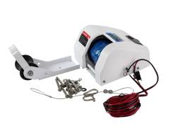 Лебедка якорная электрическая TRAC Fisherman 25SW, для якорей до 9 кг