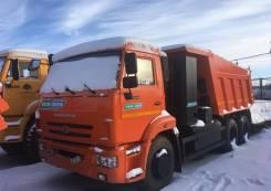 КамАЗ самосвал 65115 на метане, 2015