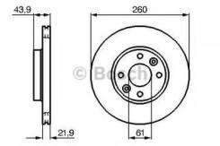 Тормозной диск Bosch 0986479103 Dacia: 7701207795. Nissan: 40206AX602 40206AX603 40206AX600 402063AW0A 40206EE320. Renault: 40206AX602 7701207795
