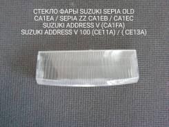 Стекло фары Suzuki Sepia OLD / ZZ OLD / Address V 50 / 100
