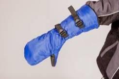 Рукавицы снегоходчика удлиненные черные