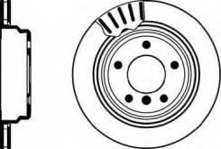 Тормозной диск Textar 92075103 Bmw: 34211164840 34216767060 34211163153 34211164175 982000751 98200075101 Alpina B10 (E39). Alpina B10 Универсал
