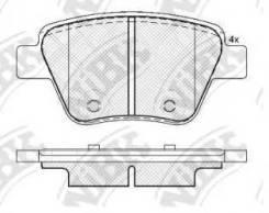 Колодка тормозная дисковая Nibk PN0550 Vag: 5K0698451A 5K0698451 Audi A1 (8x1 8xk 8xf). Audi A1 Sportback (8xa 8xf 8xk). Audi A3 (8p1). Audi A3