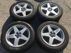 """215/55 R17 Bridgestone Revo GZ литые диски 5х100 (K15-1704). 7.0x17"""" 5x100.00 ET49 ЦО 67,1мм."""