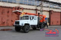 """ГАЗ 3308 Садко. ГАЗ 33081 """"Садко"""" С АГП ПСС-131.18Э (18 Метров), 4 300куб. см., 18,00м."""