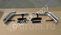 Защита бамперов дуги Land Cruiser 100. Toyota Land Cruiser, FZJ100, FZJ105, HDJ100, HDJ100L, HDJ101K, HZJ105, HZJ105L, J100, UZJ100, UZJ100L, UZJ100W...