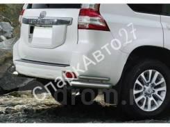 Защита бампера дуги Prado 150. Toyota Land Cruiser Prado, GDJ150, GDJ150L, GDJ150W, GDJ151W, GRJ150, GRJ150L, GRJ150W, GRJ151W, KDJ150, KDJ150L, TRJ12...
