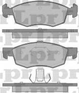 Комплект тормозных колодок диско Lpr 05P756 Dacia: 6001549803. Fiat / Lancia / Alfa: 77362205 77363496 9948870 20908 20907 23842 5SP756 Fiat Albea