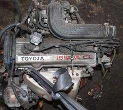 Двигатель в сборе. Toyota Vista, SV22 Toyota Camry, SV22 Двигатель 4SFI