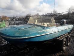 Продам лодку обь 3 с мотором ямаха 30 XWSK