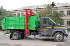 ГАЗ. МК-1451-14 на шасси -С41R33 Мусоровоз (бок. загр), 6 000куб. см.