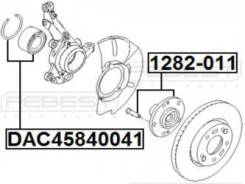 Ступица передняя Febest 1282-011 Hyundai / Kia (Mobis): 51750-39603 Hyundai Azera (Tg). Hyundai Embera V (Nf). Hyundai Grandeur (Tg). Hyundai