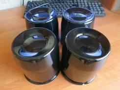 Колпаки на ЦО. Заглушки для дисков. Черные. Металлические