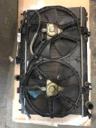 Радиатор охлаждения двигателя. Nissan Bluebird Sylphy, FG10, QG10, QNG10, TG10 Nissan Sunny, SB15, QB15, B15, N16, JB15, FNB15, FB15 QG15DE, QG18DE, Q...