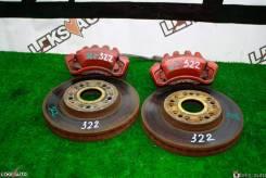 Диски тормозные передние (парой) T. Crown Majesta V8 [Leks-Auto 322]