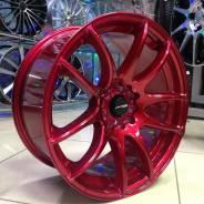 Диск литой Work 17/5*114 (17/5*100)-73.1 ET35 8J Red