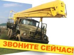 Услуги автовышки вездеход до 45 метров