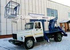 Випо-18. Автогидроподъемник ВИПО-18-01 на шасси ГАЗ-33098 (4х2), 18,00м.
