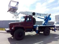 Випо-24. Автогидроподъемник ВИПО-24-01 на шасси ГАЗ-33086 (4х4), 24,00м.