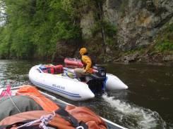 Продам надувную лодку из ПВХ НДНД Solar 450 Jet