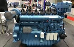Главный судовой двигатель серии WHM6160