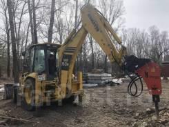 Услуги гидромолота и экскаватора-погрузчика 9 тонн