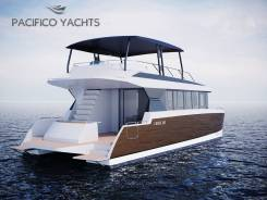 Катер-катамаран для чартера Pacifico Cruise 120