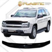 Дефлектор капота Chevrolet TrailBlazer GMT360 2005-2012 (Мухобойка)