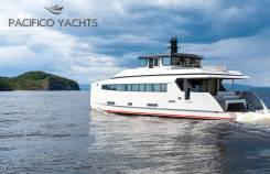 Pacifico Voyager 199 - океанская яхта с бассейном и хаммамом de Luxe