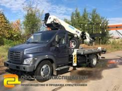 Dasan Skyman DS-300L. Автовышка Газ Некст Next 30 метров (DS 300S, Корея), 4 430куб. см., 30,00м. Под заказ