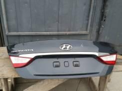 Крышка багажника. Hyundai Sonata, YF Двигатели: G4KH, G4KK, G4KJ, G4ND, G4KA, G4KD, G4KC, G4NE