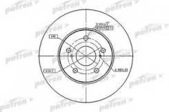 Диск тормозной передн toyota: camry 96-01 camry 01- Patron PBD4204 Gac: 4351206130. Lexus: 4351258010 4351258011. Toyota: 4351248011 4351258010