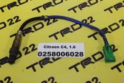 Датчик кислородный Citroen C4 0258006028, Контрактный!