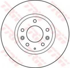 Тормозной диск df4974s Trw DF4974S Changan Ford Mazda: GV7D33251. Faw: 5DA026251. Mazda: G33Y3325X G33Y3325XA Besturn (Faw) X80. Mazda 6 Combi-Coupe