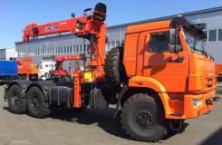 Kanglim KS1256G-II. Седельный тягач Камаз 43118 с КМУ Kanglim KS1256GII в наличии новый, 10 850куб. см., 8 000кг., 6x6