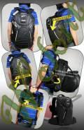 Рюкзак Alpinestars с чехлом большой черный