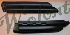 Защита вилки KDX/KLX250 Черный