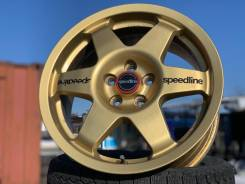 Золотые прочные спорт-диски Speedline Corse Preo-R R16 5*100! Italy!