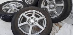 """Классические диски """"Laycea"""" на зиме 175/65R14 Dunlop. Только из Японии. 5.0x14"""" 4x100.00 ET42"""