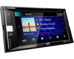 Автомагнитола JVC KW-V250BT DVD/USB/MP3/CD/iPod/Блютуз/2DIN