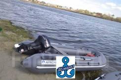 Apache 3500 НДНД графит. Лодка ПВХ производство УФА
